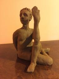 Terra Cotta Male Yogi