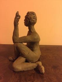 Terra Cotta Female Yogini